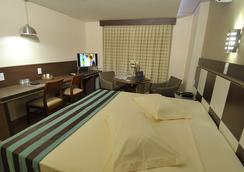 Hotel Maestro Premium Cascavel - Cascavel (Paraná) - 寝室