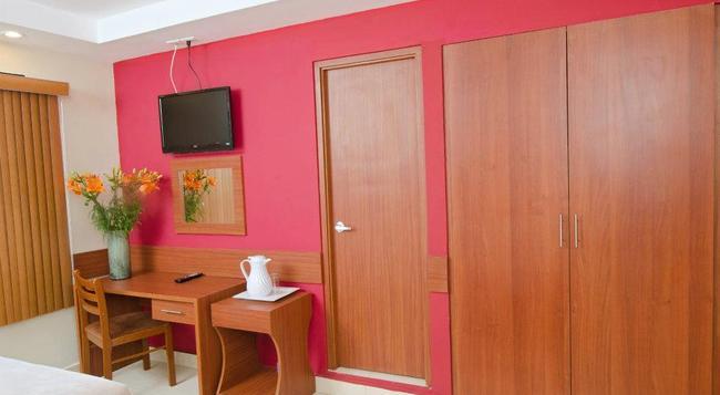 Hotel Centroamericano - パナマ・シティ - 寝室