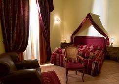 キアイア ホテル デ キャルメ - ナポリ - 寝室
