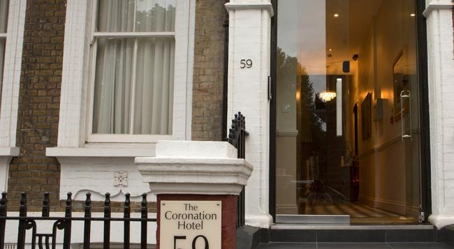 ザ コロネーション ホテル - ロンドン - 建物