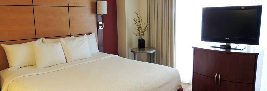 Hotel Versey - Days Inn Chicago - シカゴ - 寝室