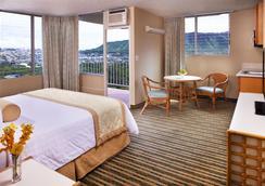 クイーン カピオラニ ホテル - ホノルル - 寝室