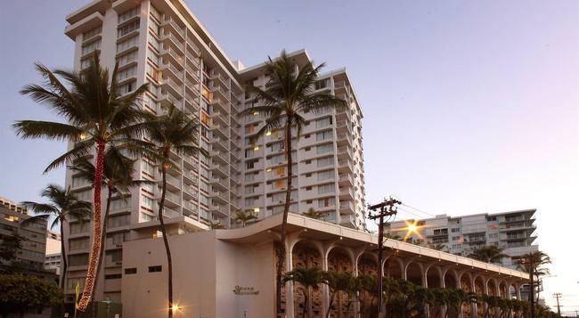 クイーン カピオラニ ホテル - ホノルル - 建物