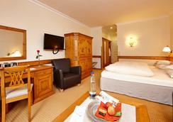 ホテル ツークシュピーツェ - Garmisch-Partenkirchen - 寝室