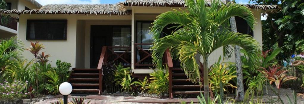 キャストアウェイ リゾート - ラトロンガ島 - 建物