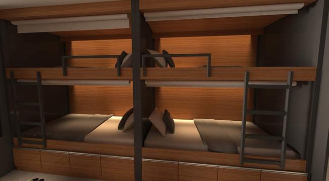 Ipanema Beach Hostel - リオデジャネイロ - 寝室