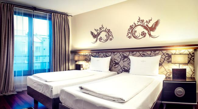 ホテル アンビエンス リヴォリ - ミュンヘン - 寝室