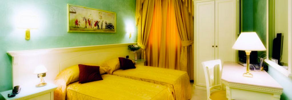 ホテル ブライト - ローマ - 寝室