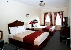 ハリウッド ヒストリック ホテル - ロサンゼルス - 寝室