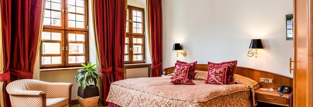 ロマンティック ホテル ビューロー レジデンツ - ドレスデン - 寝室