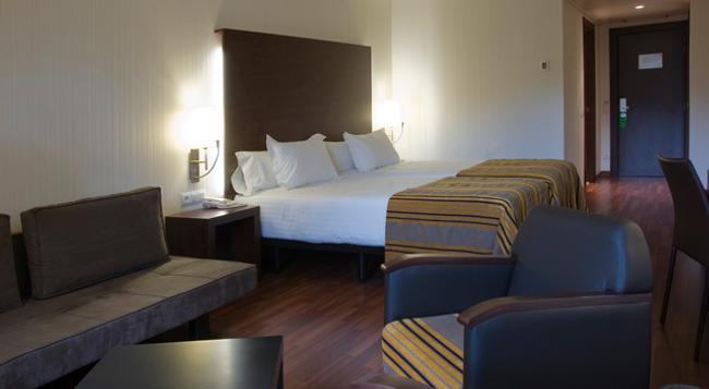 Hotel Gran Ultonia - ジローナ - 寝室