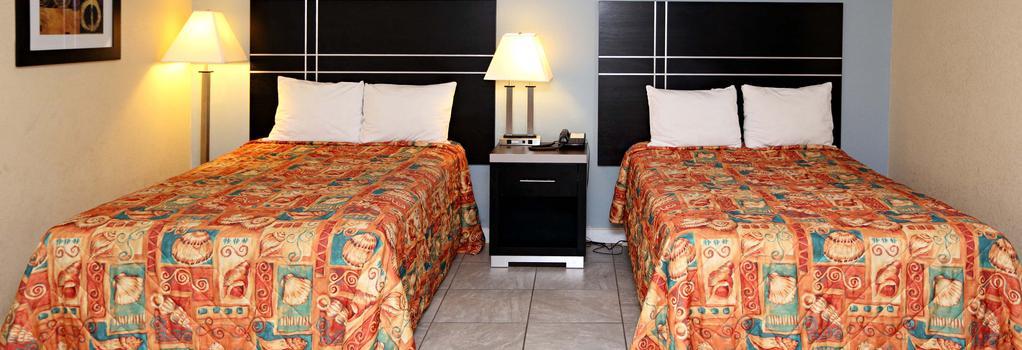 Blue Marlin Inn & Suites - バージニア・ビーチ - 寝室