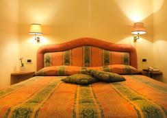 ホテル ヴィラ デッレ ローゼ - ローマ - 寝室