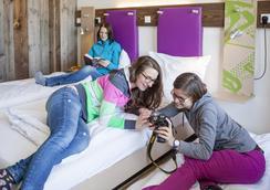 Explorer Hotel Berchtesgaden - ベルヒテスガーデン - 寝室