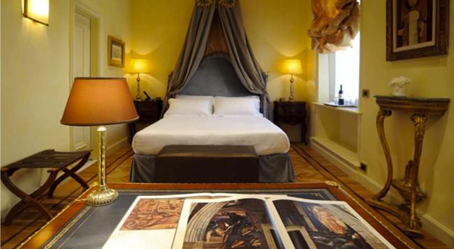 ホテル ヴィラ ドゥーゼ - ローマ - 寝室