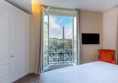 オテル ラ コンテス バイ エレガンシア - パリ - 寝室