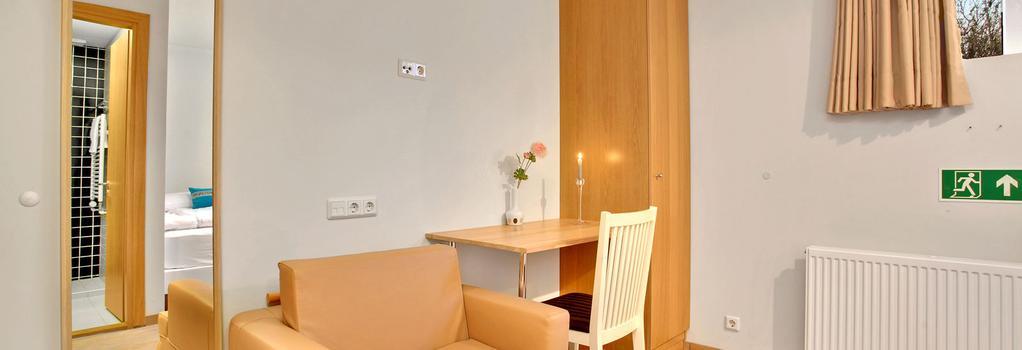 27 ソレイ アパートメンツ & ゲストハウス - レイキャヴィク - 寝室