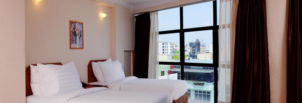 チャンパ セントラル ホテル - マレ - 寝室
