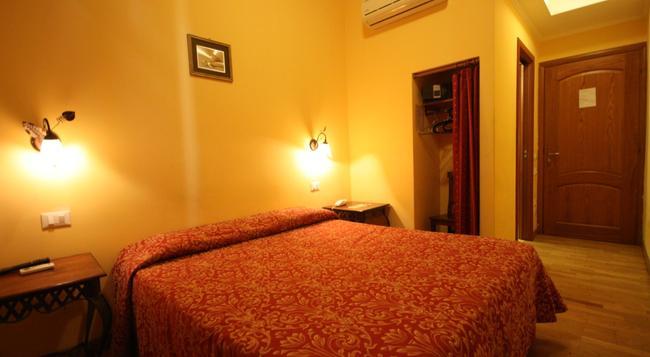 ホテル テルミニ - ローマ - 寝室