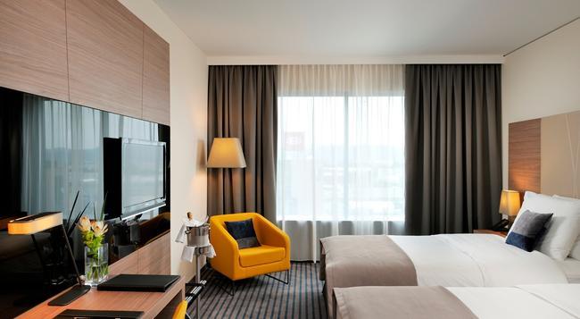 ラディソン ブル プラザ ホテル リュブリャナ - リュブリャナ - 寝室