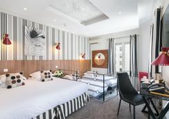 オテル ブリス ガーデン - ニース - 寝室