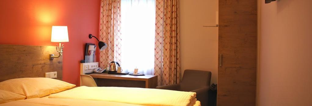 ホテル アーツェンベルグ - シュトゥットガルト - 寝室