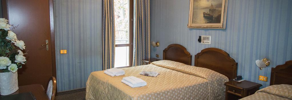 ホテル アックルシオ - ミラノ - 寝室