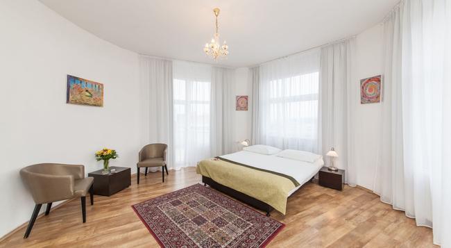 Hotel Vitkov - プラハ - 寝室