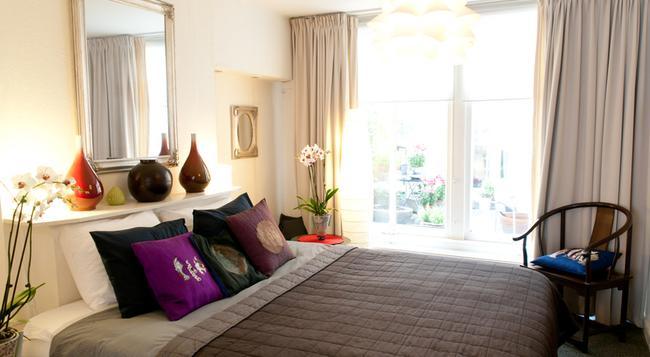 Palace B&B Amsterdam - アムステルダム - 寝室