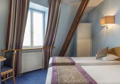 ホテル フランス アルビオン - パリ - 寝室