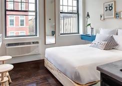 イースト ビレッジ ホテル - ニューヨーク - 寝室