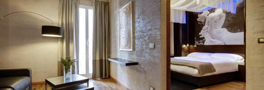 ダルマ ホテル & ラグジュアリー スイーツ - ローマ - 寝室