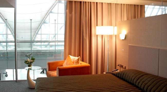 Louis' Tavern Transit Hotel Dayrooms Suvarnabhumi Airport - バンコク - 寝室