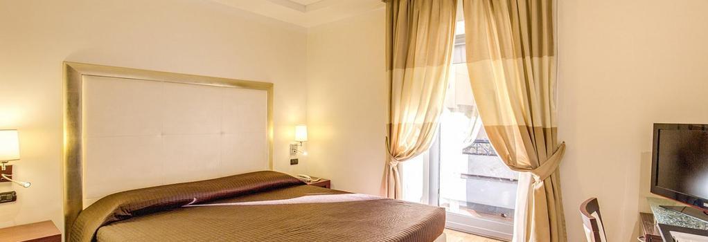 ザ ストランド ホテル - ローマ - 寝室