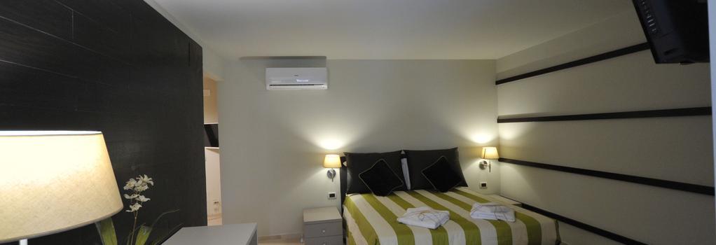 Bed & Breakfast Gatto Bianco - バーリ - 寝室