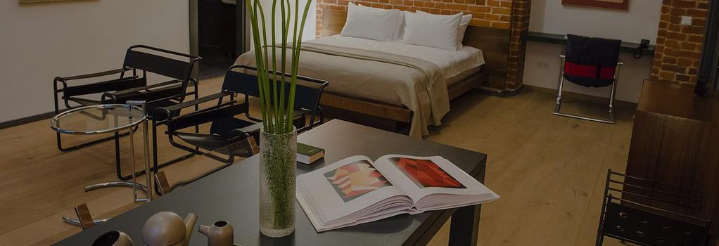 ブリック デザイン ホテル - モスクワ - 寝室