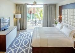 Floris Suite Hotel - Spa & Beach Club - Adults Only - ウィレムスタッド - 寝室