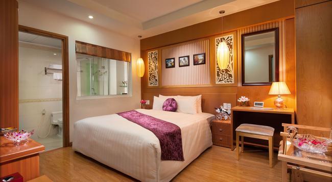 ゴールデン パレス ホテル - ハノイ - 寝室