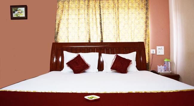 Hotel Avisha - コルカタ - 寝室