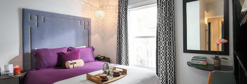 クレセント ホテル - ビバリーヒルズ - 寝室