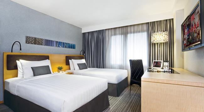キュー グリーン ホテル ワンチャイ 香港(旧メトロパーク ホテル ワンチャイ) - 香港 - 寝室