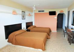 Hotel Playa Bonita - マサトラン - 寝室