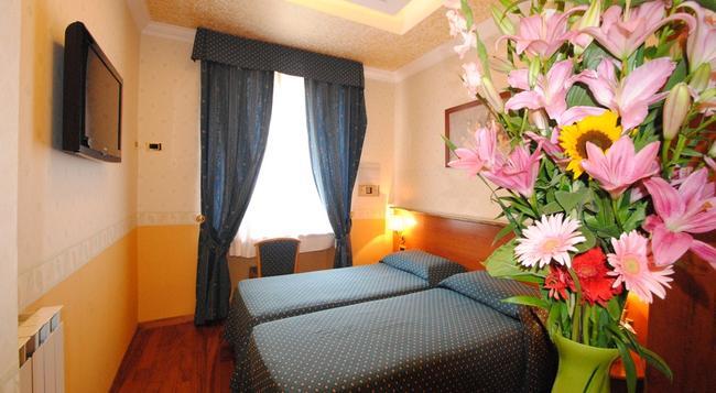 ホテル ベローナ ローマ - ローマ - 寝室