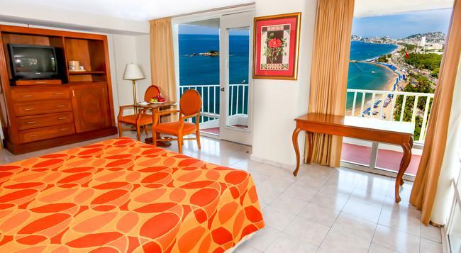 Krystal Beach Acapulco - アカプルコ - 寝室