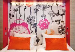 モーテル L - ストックホルム - 寝室
