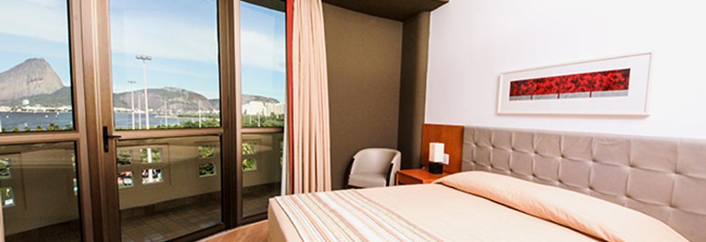 ホテル ノボ ムンド - リオデジャネイロ - 寝室