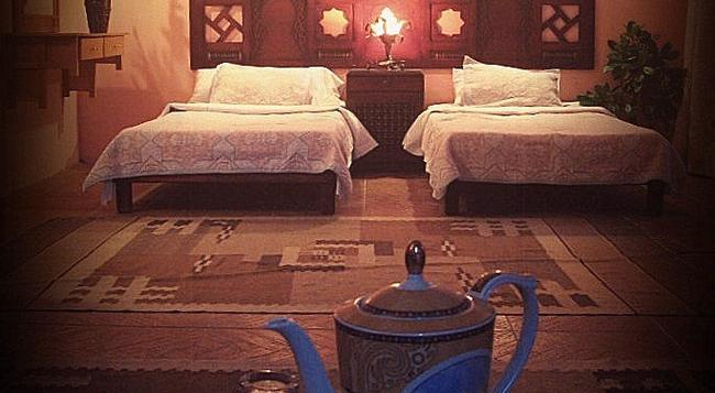 Ali Baba Hotel - ダハブ - 寝室