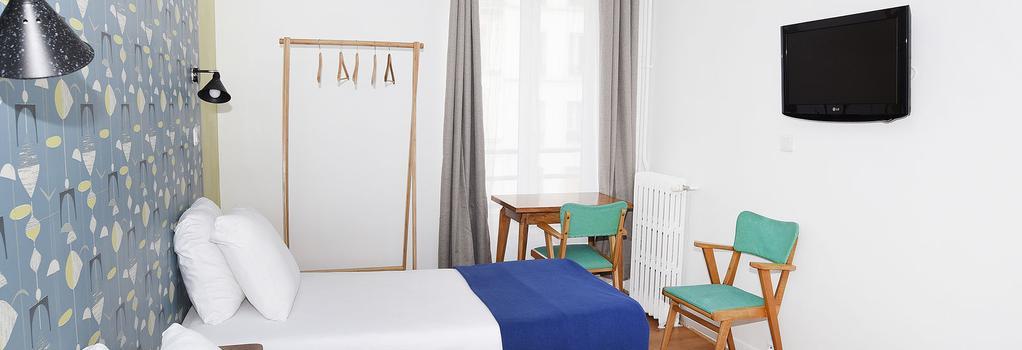 Zazie Hôtel - パリ - 寝室
