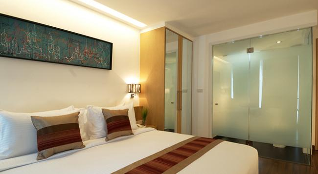 シティポイント ホテル - バンコク - 寝室