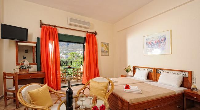 Erofili Apartments - ヘルソニソス - 寝室